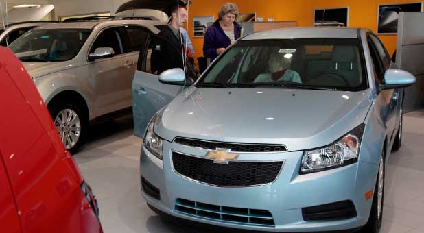 fuel-efficient car, Chevy Cruze
