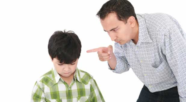Are your kids scared or intimidated because of your anger?