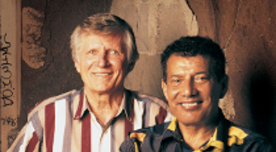 David Wilkerson and Nicky Cruz