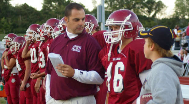 High school football coach