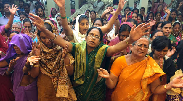 The growth of Christianity in India today is slowly changing the status of women.