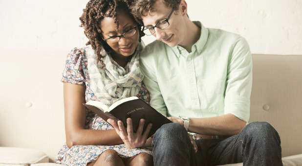 Men, are you praying with and studying the Bible with your spouse?