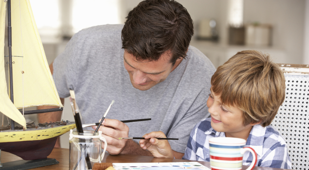 Are you spending quantity time with your son as well as quality time?