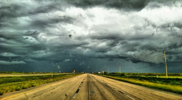 storm in Alligator Alley