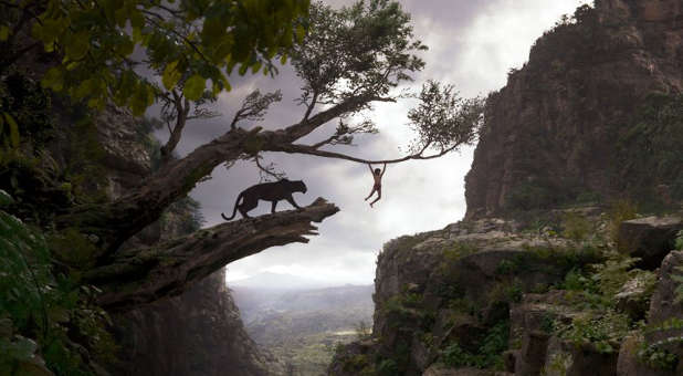 "A scene from Disney's ""The Jungle Book"""