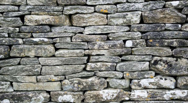 We must push down the stone walls of pride in our lives.