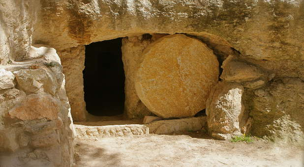The empty tomb says it all. He is Risen!