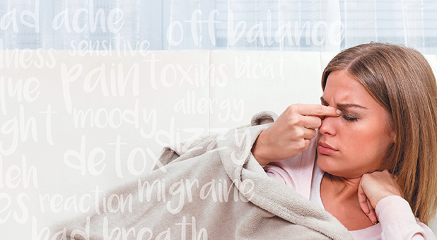 A lot of times, people are so used to feeling sick that they don't realize their symptoms are actually a cry for help.