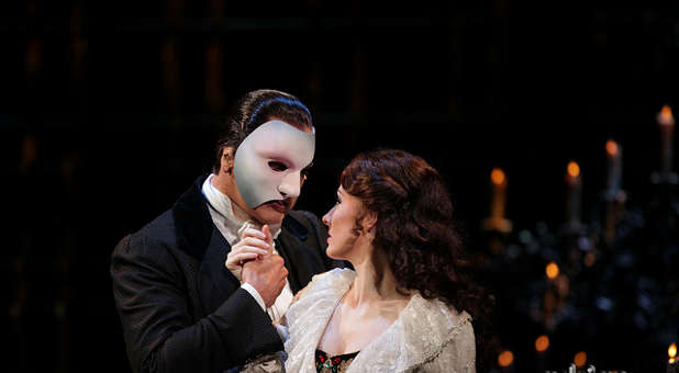 A scene from 'Phantom of the Opera'