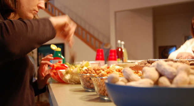 Resist the temptation to overeat during the holidays with these tips.