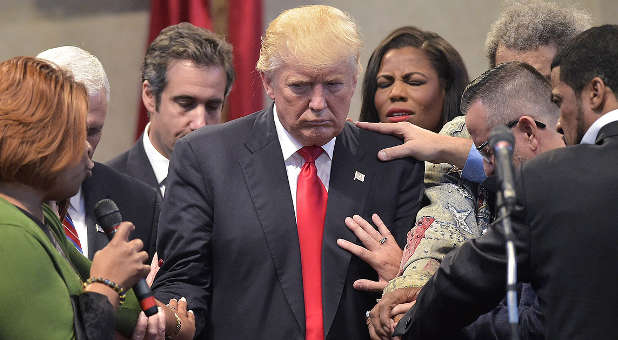 Donald Trump certainly needs your prayers.