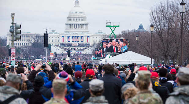 Millions of people marched after the inauguration of President Donald Trump. Let's pray with this attitude for our new president.
