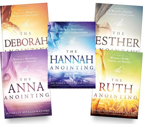 Anointing Series 5 Books large