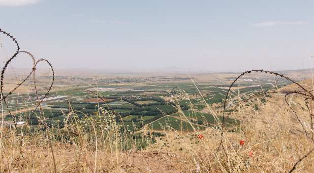 Golan Heights region